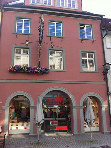 Shoetown in Wangen