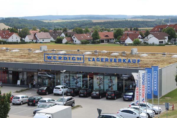 Lagerverkauf Werdich in Dornstadt