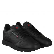 REEBOK, CLASSIC LEATHER, SCHWARZ