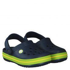 Crocs, Crocband Clog Kids, Gummi (synth.)-Pantolette in blau für Mädchen