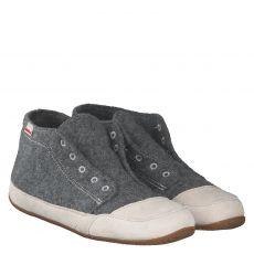 Livingkitzbühel Wolle/Schurwolle-Hausschuh in grau für Herren