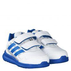 Adidas Kunstleder-Sportschuh in weiß für Jungen