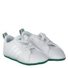 Adidas, Vs Advantage Crib, Lauflernschuh in weiß für Jungen