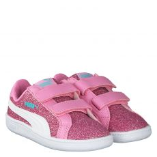 PUMA, SMASH GITZ GLAM JR., ROT