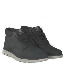 Timberland, Bradstreet, sportiver Fettleder-Stiefel in schwarz für Herren