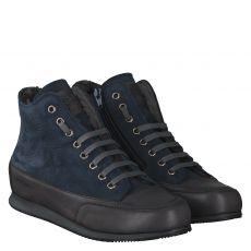 Candice Cooper warmer Nubukleder-Stiefel in blau für Damen