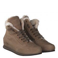 Candice Cooper warmer Nubukleder-Stiefel in beige für Damen