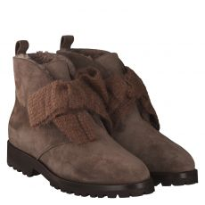 Unützer warmer Veloursleder-Stiefel in braun für Damen
