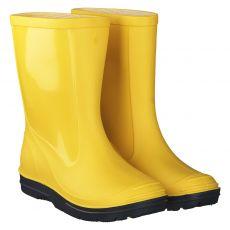 Beck, Basic, Regenstiefel in gelb für Damen