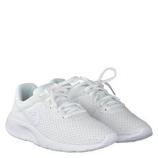Nike, Tanjun, Textil-Sportschuh in weiß für Mädchen
