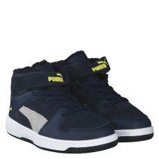 Puma, Rebound Layup Fur Jr, Stiefel in blau für Jungen
