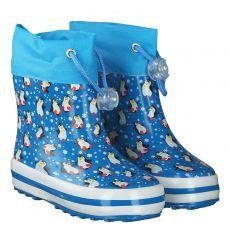 Beck, Pinguine, Regenstiefel in blau für Mädchen