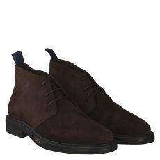 Gant, Fargo 2a, eleganter Veloursleder-Stiefel in braun für Herren