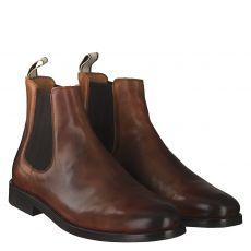Gant, Max 1b, eleganter Glattleder-Stiefel in cognac für Herren