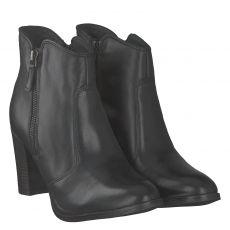 Sailer, Arlette H, kurzer Glattleder-Stiefel in schwarz für Damen