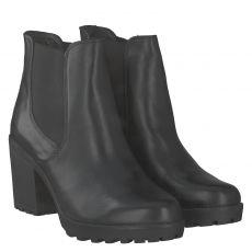 Sailer, Mira H, kurzer Glattleder-Stiefel in schwarz für Damen