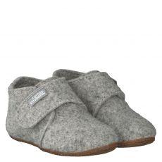 Livingkitzbühel Wolle/Schurwolle-Hausschuh in grau für Mädchen