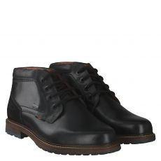 Fretzmen, Lenz, eleganter Glattleder-Stiefel in schwarz für Herren