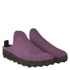 Ecochic, Blau, Textil-Hausschuh in lila für Damen