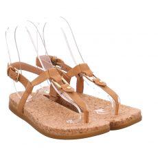 Ugg, Aleigh, Glattleder-Sandalette in braun für Damen