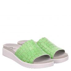 Mubb, Kaiman, Glattleder-Hausschuh in grün für Damen