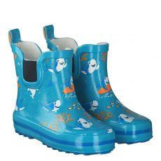 Beck, Little Shark, Regenstiefel in blau für Mädchen