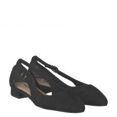 Tamaris Textil-Ballerina in schwarz für Damen