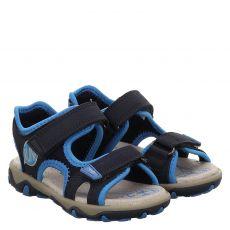 Superfit Textil-Sandale in blau für Mädchen