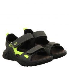 Sailer Kunstleder-Sandale in grau für Jungen