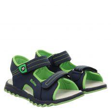 Richter Kunstleder-Sandale in blau für Jungen
