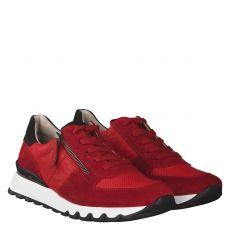 Paul Green, 4965, Sneaker in rot für Damen