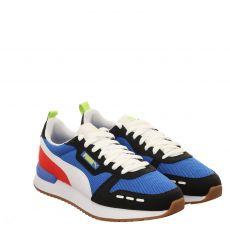 Puma, R78, sportiver Textil-Schnürer in blau für Herren