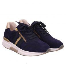 Gabor Lady, Rolling Soft, Sneaker in blau für Damen