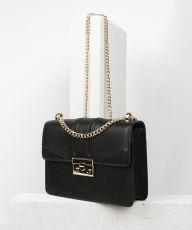 Seidenfelt, 01g Black (gold Metal), Tasche in schwarz