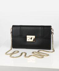 Seidenfelt, Black (gold Metal), Tasche in schwarz