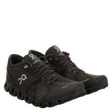 On, Cloud X, Textil-Sportschuh in schwarz für Herren