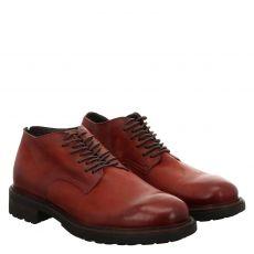 Fernando Strappa, Jack, eleganter Glattleder-Stiefel in rot für Herren