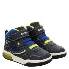 Geox Kunstleder-Halbschuh in blau für Jungen