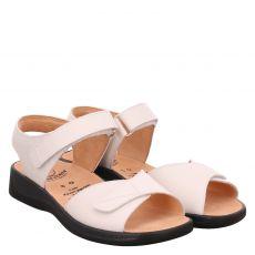 Ganter, Monica, Glattleder-Sandalette in weiß für Damen