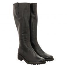 Gabor Lady, Schaftweite L, hoher Glattleder-Stiefel in schwarz für Damen