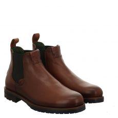 Galizio Torresi eleganter Glattleder-Stiefel in braun für Herren