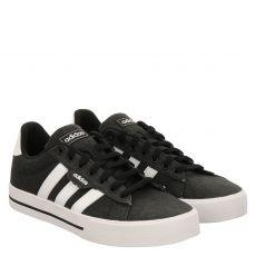 Adidas, Daily3.0, sportiver Textil-Schnürer in schwarz für Herren