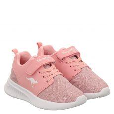 Kangaroos, Kl Hinu Ev, Textil-Halbschuh in rosé für Mädchen