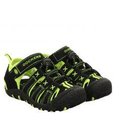 Dockers Textil-Sandale in schwarz für Jungen