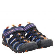 Dockers Textil-Sandale in blau für Jungen