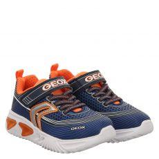 Geox Textil-Halbschuh in blau für Jungen