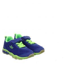 Lico, Lightball Vs Blinky, Textil-Halbschuh in blau für Jungen