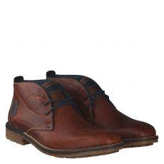Rieker eleganter Glattleder-Stiefel in braun für Herren