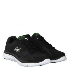 SKECHERS, FLEX ADVANTAGE-MASTE, SCHWARZ