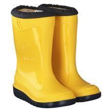 Romika, Little Bunny, Regenstiefel in gelb für Mädchen